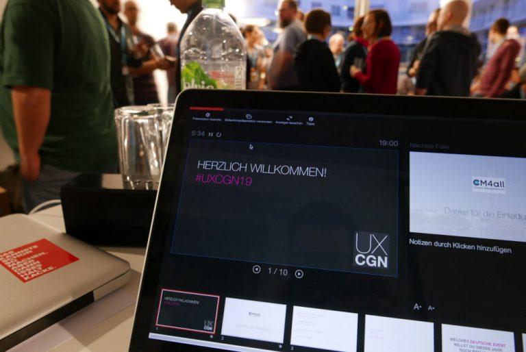 #UXCGN19 – Einfach, praktisch, schön und gut